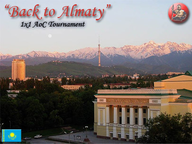 Back to Almaty